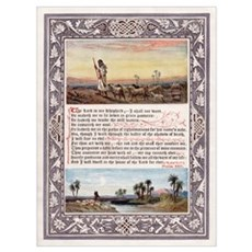 THE LORD'S PRAYER PSALM 23 Framed Print