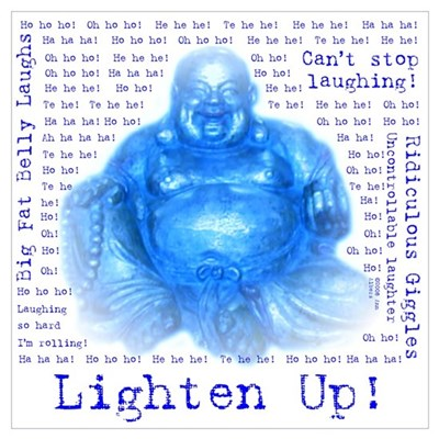 Laughing Buddha Canvas Art
