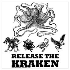 Kraken and Beasts Poster