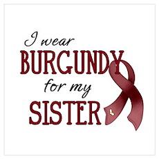 Wear Burgundy - Sister Poster