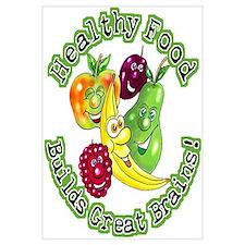 Healthy Food Builds Great Brains! Prin