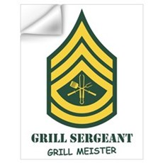 Grill Sgt. Wall Decal