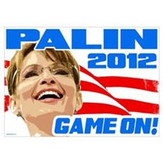 Game On! - Sarah Palin Poster