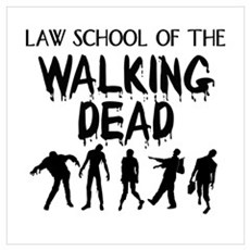 Law School Zombies Poster