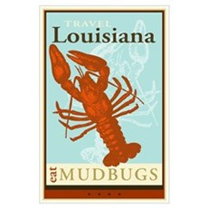 Travel Louisiana Poster
