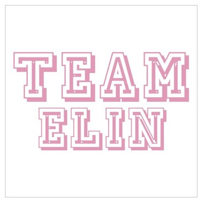 Team Elin Framed Print