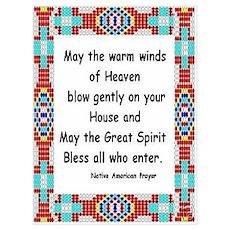 INDIAN PRAYER Poster