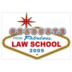 Graduates From Fabulous Law School 2009 Large Post Poster