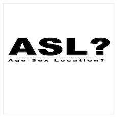 ASL? Poster