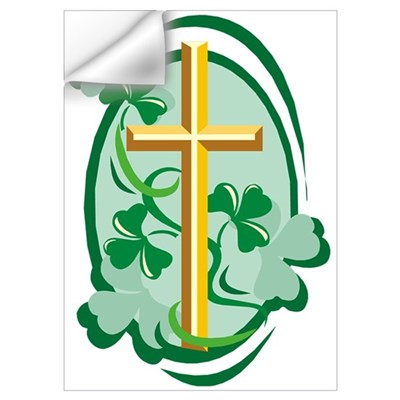Irish Cross Wall Decal