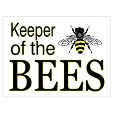 keeping bees Poster