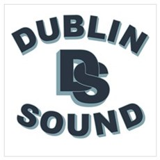 Dublin Sound Retro Poster