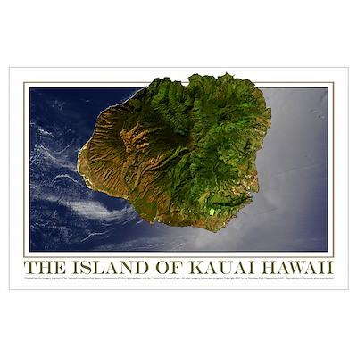 Kauai Hawaii (11x17) Poster