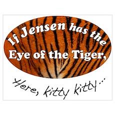 Jensen Tiger Poster