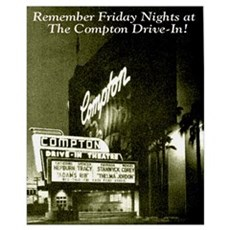 Compton Drive In Canvas Art
