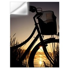 Sunrise&Bicycle Wall Decal