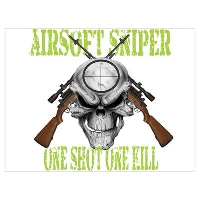 Airsoft Sniper Poster
