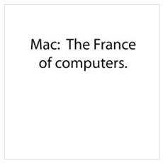 Mac: The France of Computers. Poster