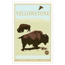 National Parks - Yellowstone Poster