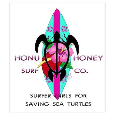 Honu Honey Poster