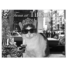 Tuna at Tiffany's Canvas Art