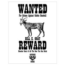 Wanted - The Goat Poster