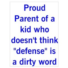 """Defense"" is not a dirty word Framed Print"