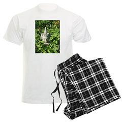 Chinese Garden Gnome Men's Light Pajamas