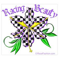Racing Beauty Poster