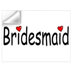 Bridesmaid (RD HRT) Wall Decal