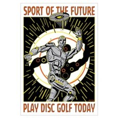 Sport of The Future Framed Print
