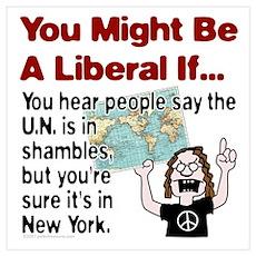 U.N. in Shambles Poster
