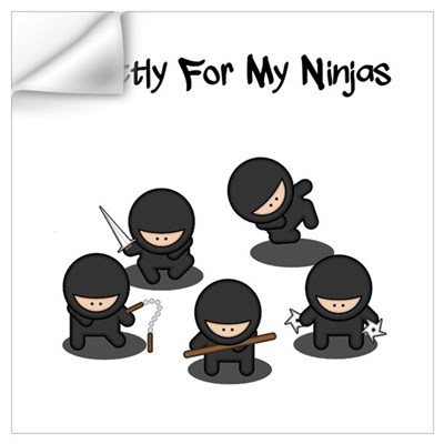 Strictly Ninjas Wall Decal