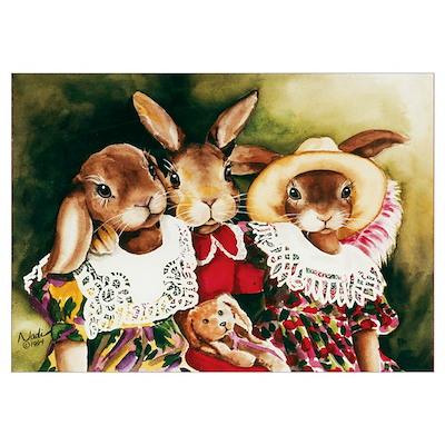 Rabbit Pals Poster