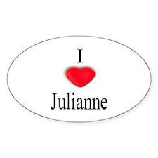Julianne Oval Decal