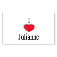 Julianne Rectangle Decal
