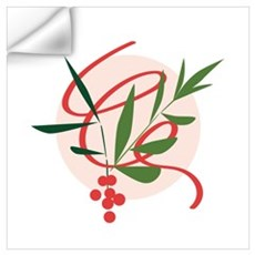 Holiday Mistletoe Wall Decal