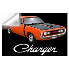 Australian Charger Wall Decal