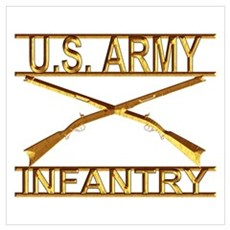 Us Army Infantry Poster