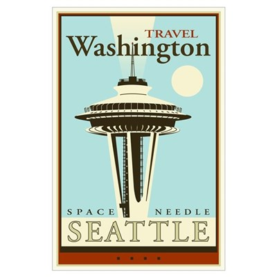 Travel Washington Poster