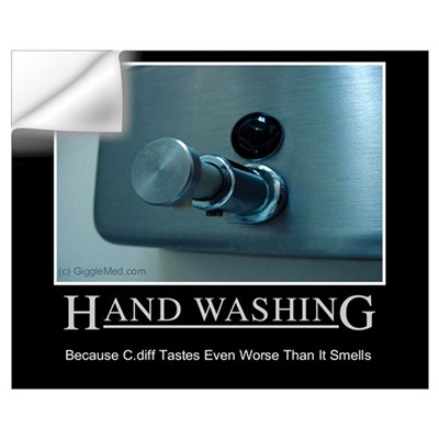 Infection Control Humor 01 Wall Decal
