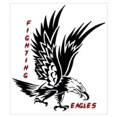 Fighting Eagles Poster