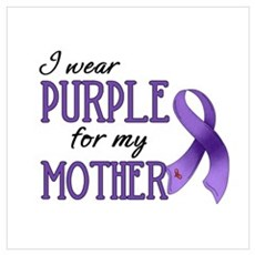 Wear Purple - Mother Canvas Art