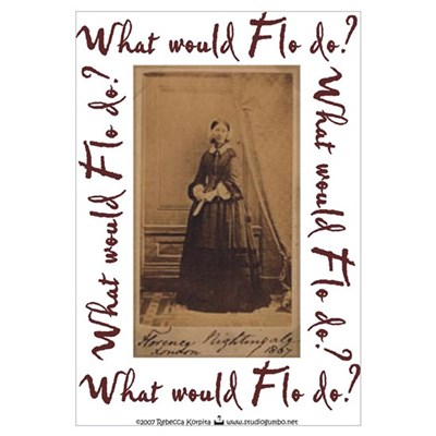 Flo do? Nursing Framed Print