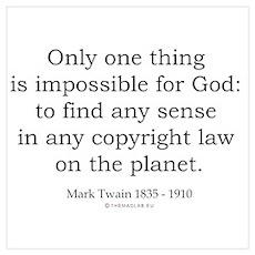 Mark Twain 8 Poster
