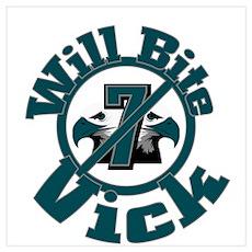 Will Bite Vick Poster