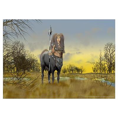 Centaur Autumn Poster