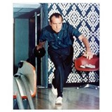 Nixon bowling Wrapped Canvas Art
