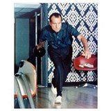 Nixon bowling Framed Prints
