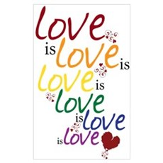 Love is Love (Gay Marriage) Canvas Art